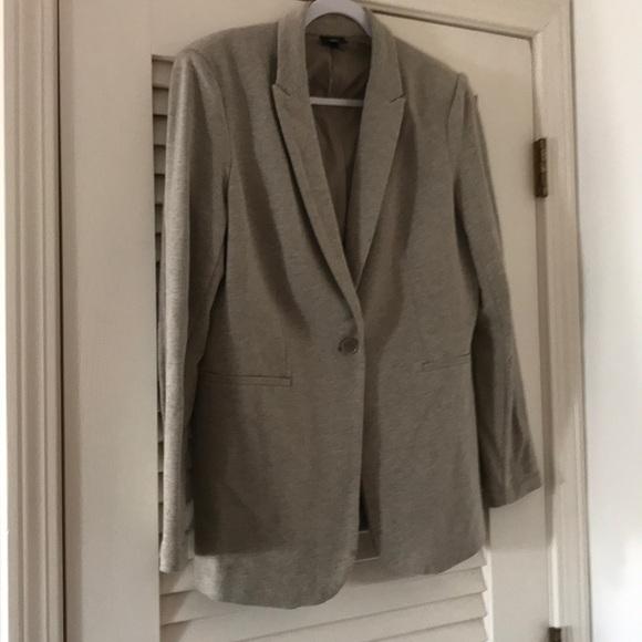 Mossimo Supply Co. Jackets & Blazers - Comfy Oatmeal colored Jersey blazer.